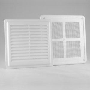 Решетка вентиляционная разъемная с москитной сеткой  РВ1717СР