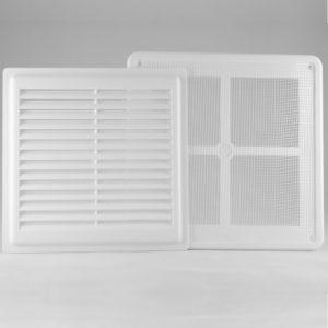 Решетка вентиляционная с сеткой разъемная РВ2020СР