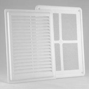 Решетка вентиляционная разъемная с москитной сеткой  РВ1724СР